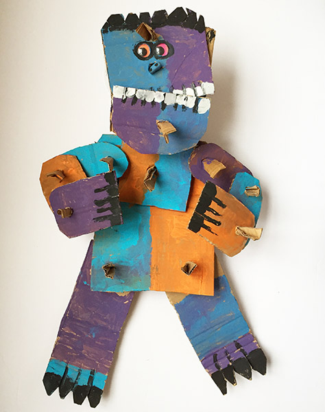 Brent Brown - BRB171 at the Outsider Folk Art Gallery
